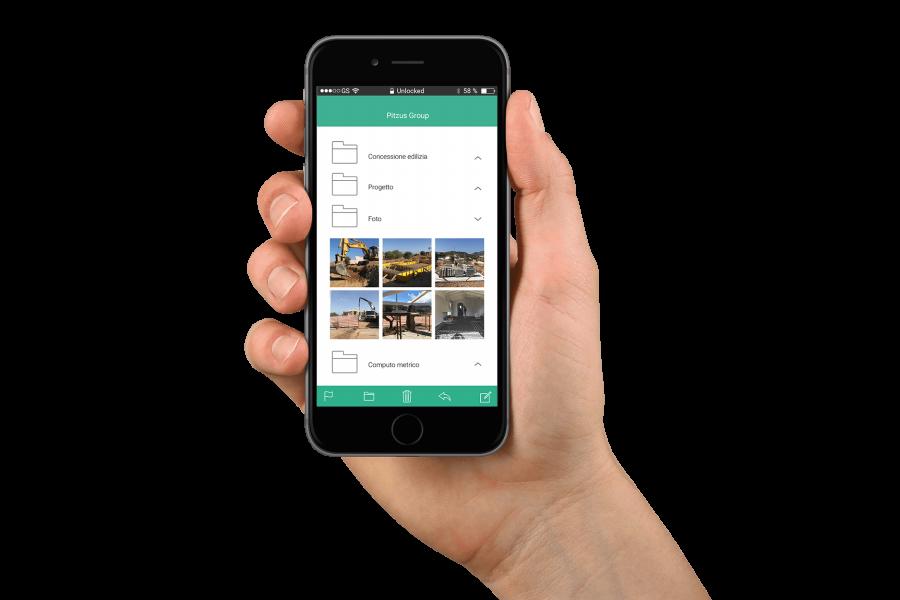 Gestire il cantiere con un App: ecco come lo facciamo.