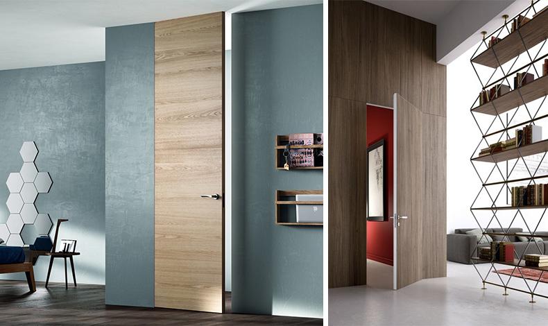 interior design porte filomuro